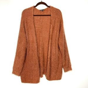 Charlotte Russe 2X Sweater Open Front Soft Loose